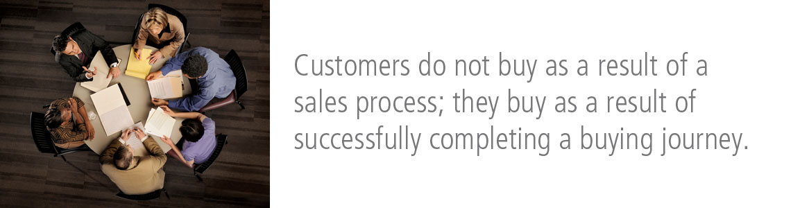 Customers Do Not Buy as a Result of a Sales Process