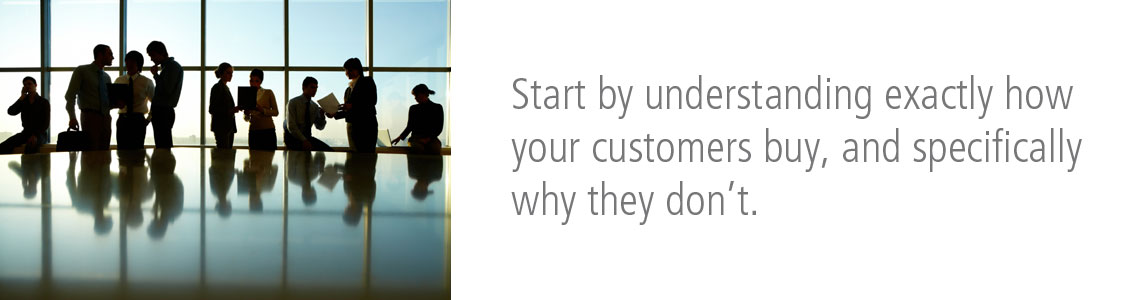 Start by Understanding Exactly How Your Customers Buy