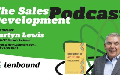 Market-Partners Inc. CEO, Martyn Lewis, on The Sales Development Podcast with David Dulaney